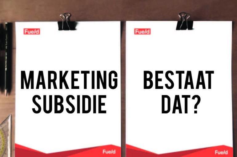 Marketing subsidie