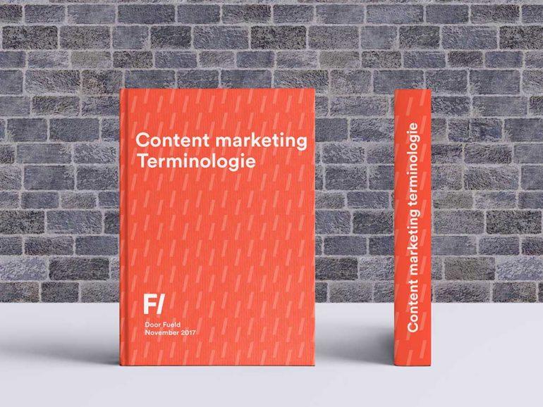 Content marketing terminologie