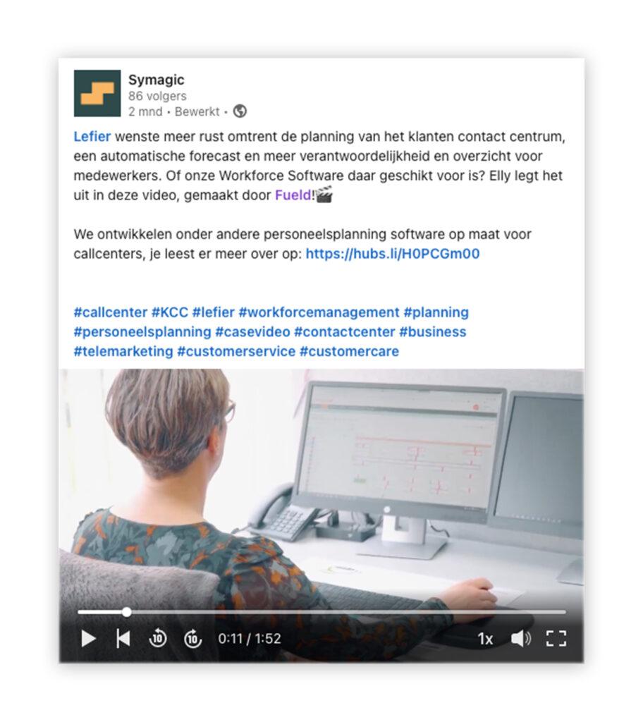 Klantcase video social media fueld
