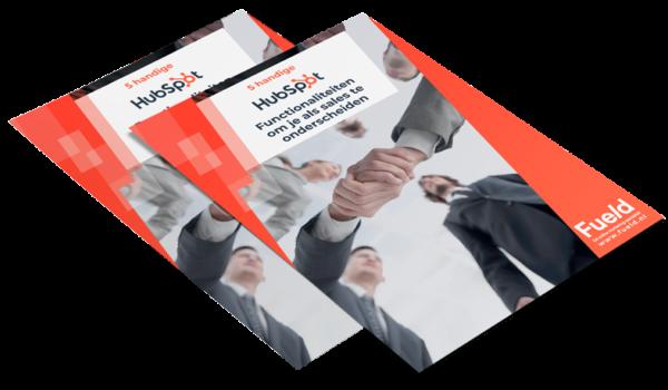 Hubspot 5 handige functionaliteiten om je te onderscheiden Ebook