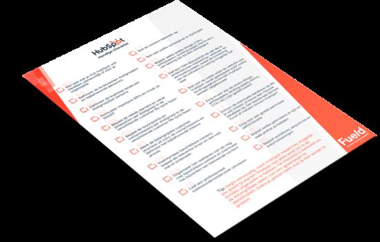 Hubspot-checklist