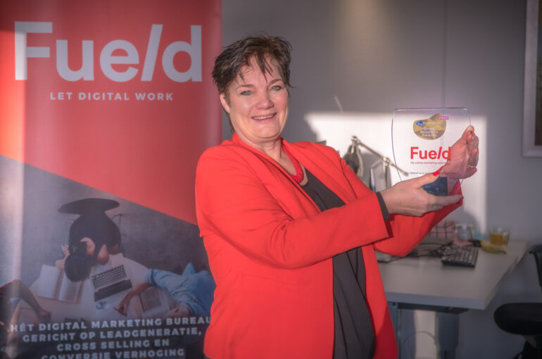 Fueld wint de Small Business Award!